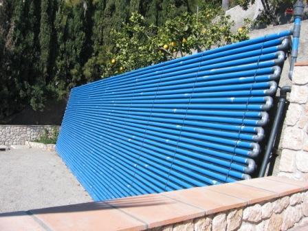Solvarme pool gør det selv